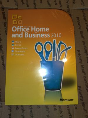 Microsoft home and business 2010 for Sale in Los Angeles, CA