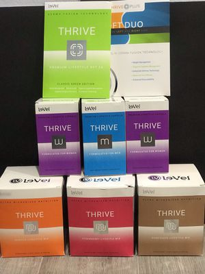 Le-vel - Thrive Experience/Thrive Skin (Need Energy, Gut health, Boost in Mood, Clear Mind, Weight Loss?) for Sale in Industry, CA
