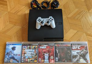 Playstation 3 (160GB w/ 5 Games and controller) for Sale in Montebello, CA