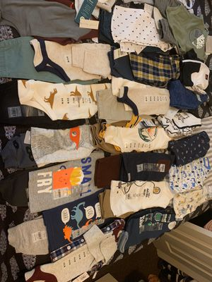 Brand new baby boy clothes 3-6months for Sale in New Castle, DE