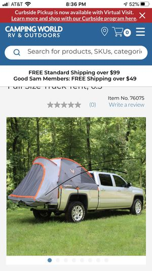 Camper tent for pick up truck bed for Sale in Miramar, FL