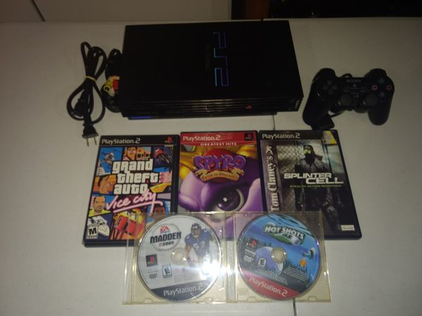 Firm Price. PlayStation 2 with games