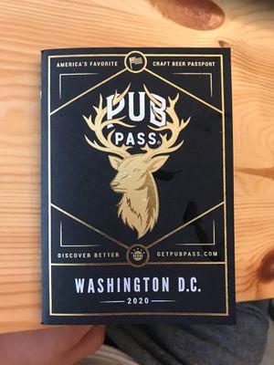 Free beer pass for Sale in Alexandria, VA