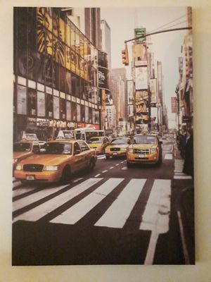 NYC Taxi Canvas Photo for Sale in Tampa, FL