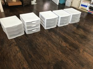 Small Plastic cabinets for Sale in San Diego, CA