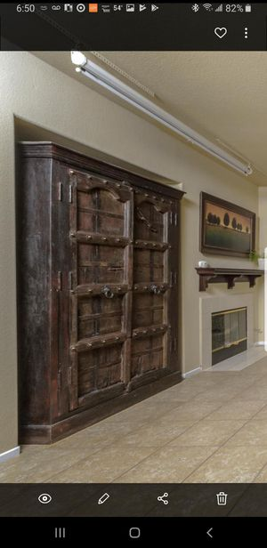 Rustic Armoire for Sale in San Clemente, CA