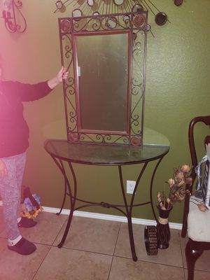Table with mirror for Sale in Mesquite, TX