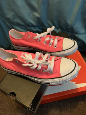 Pink converse for Sale in Tampa, FL