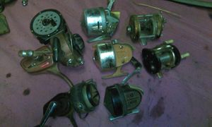 Old fishing reels for Sale in Dinuba, CA