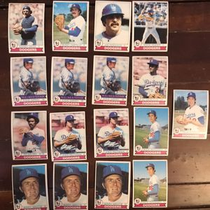 Topps Dodgers 1979 Baseball Cards for Sale in St. Charles, IL