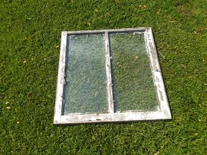 Old single pane wood framed window. Free for Sale in Lawrenceville, GA