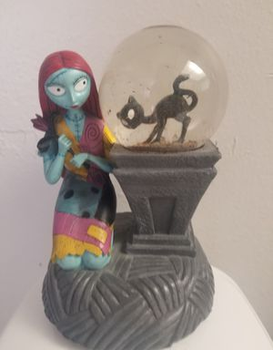 Nightmare before christmas snow globe for Sale in Clearwater, FL