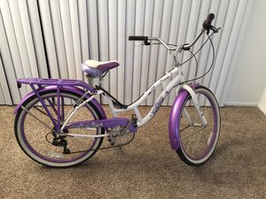 "Schwinn reverside Beach Cruiser girl bike 24"" for Sale in Rowland Heights, CA"