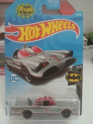 New Hot Wheels silver Bat Mobile for Sale in Tacoma, WA