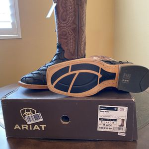 Ariat Pirarucu Boots / Ariat Bass Boots for Sale in Stockton, CA
