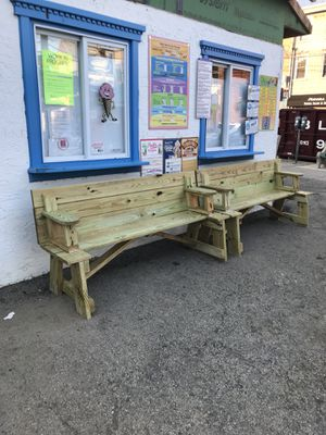 Multipurpose Benches/Picnic Table for Sale in Philadelphia, PA