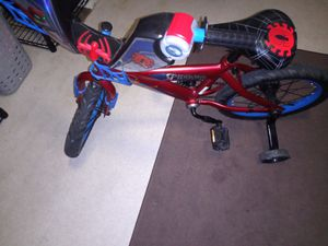 Like new Spiderman bike $50 for Sale in Stockton, CA