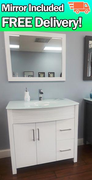 "36"" bathroom vanity 🚛FREE DELIVERY! for Sale in Coral Springs, FL"