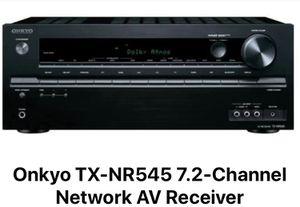 Onkyo TX-NR545 7.2-Channel Network AV Receiver for Sale in Dublin, CA