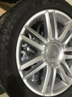 Audi S4 07 5x112 Winter Tires for Sale in Chicago,  IL