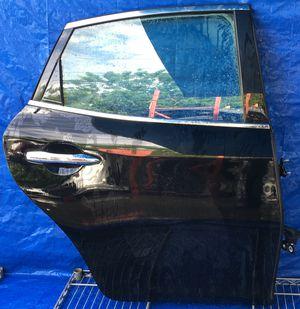 2011 - 2019 INFINITI M35 M37 M56 Q70 REAR RIGHT PASSENGER SIDE DOOR BLACK for Sale in Fort Lauderdale, FL
