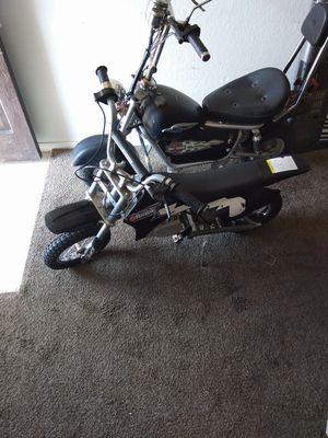 Harley Davidson ventage collectors Electric Mini Bike, Electric kids mini bike dirt bike works for Sale in Fresno, CA
