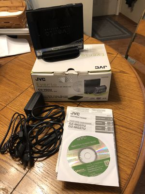 JVC EVERIO HARD DISK Camcorder WITH MATCHING DVD BURNER for Sale in Saint Charles, MO