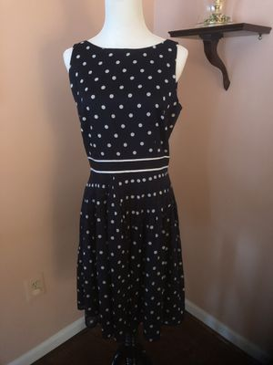Talbot's Navy and White Dress for Sale in Centreville, VA