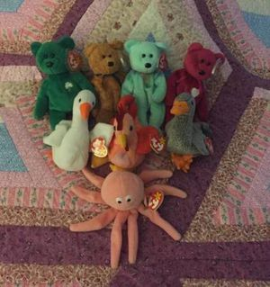 TY BEARS, BIRDS AND INKY (LOT OF 8) for Sale in Saint Charles, MO