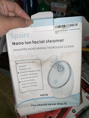 Spaire Facial steamer for Sale in Duncanville, TX