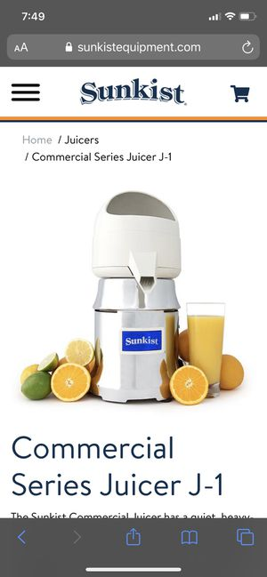 Sunkist Juicer for Sale in Houston, TX