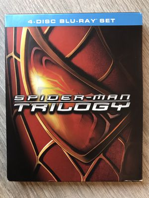 Spider-Man 1, 2, and 3 Blu Ray for Sale in Bremerton, WA