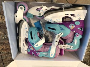 Disney Frozen Convertible Skates for Sale in Great Falls, VA