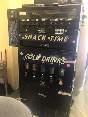 Snack and Soda Vending Machine available for sale $500.00 for Sale in Worcester, MA