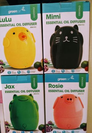 GREENAIR CREATURE COMFORTS ESSENTIAL OIL DIFFUSER & HUMIDIFIER for Sale in Auburn, WA