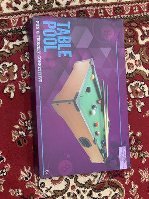 Mini Pool Table $10 OBO for Sale in Fremont, CA