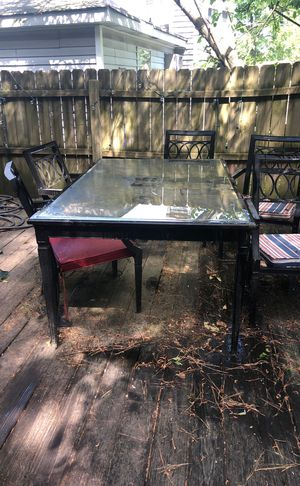 Patio Furniture: PLEASE READ THE DESCRIPTION. for Sale in Norfolk, VA