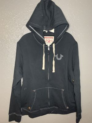 True Religion Men's Classic Zip Up Hoodie for Sale in Haines City, FL