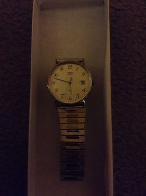 VINTAGE TIMEX WATER RESISTANT MENS STAINLESS STEEL EXPANDABLE BAND for Sale in Minneapolis, MN