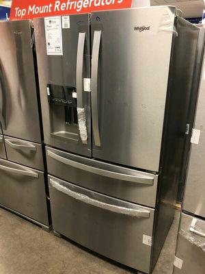 Whirlpool Brand New Refrigerator Fridge w/Ice Maker 1yr Manufacturers Warranty for Sale in Chandler, AZ