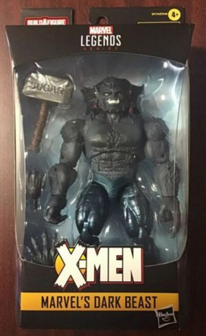 Marvel Legends Age of Apocalypse X-Men Dark Beast Collectible Action Figure Toy with Sugar Man Build a Figure Piece for Sale in Chicago, IL