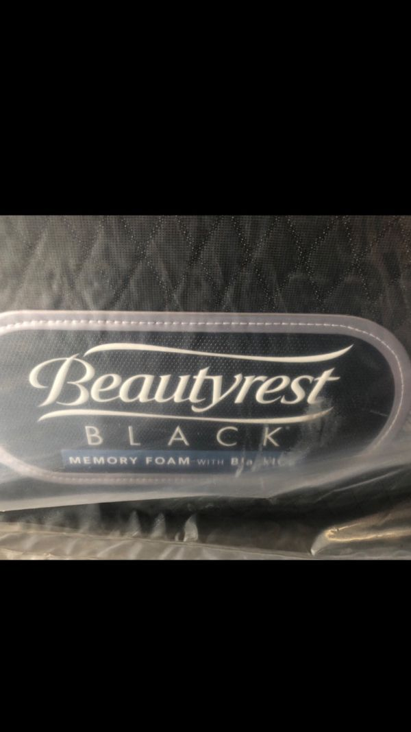 New King Simmons Beautyrest Black Ice Mattress For Sale In