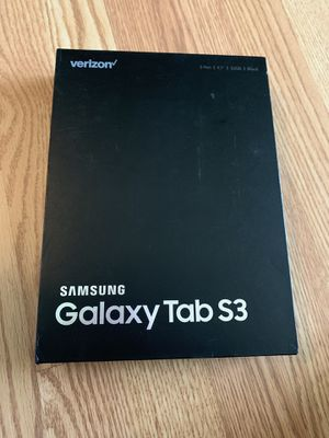 Brand New Samsung Galaxy Tab S3 (WiFi + Cellular) 32GB - Black for Sale in Dunedin, FL