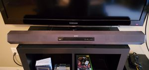 Sony HDMI Soundbar Speaker + subwoofer, Bluetooth capable for Sale in Centennial, CO