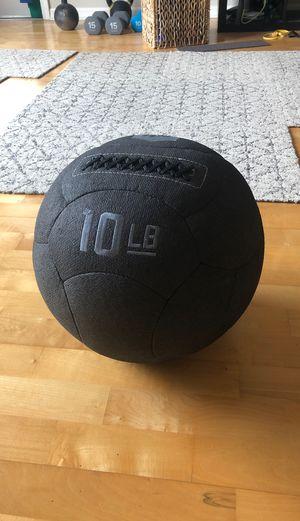 Medicine ball 10 lb for Sale in Santa Clara, CA
