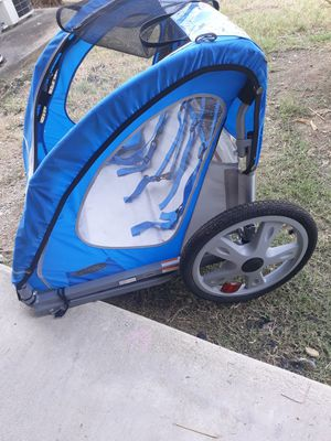 Bike trailer for two kids for Sale in Waxahachie, TX