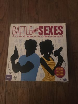 Battle Of The Sexes for Sale in Grosse Pointe Park, MI