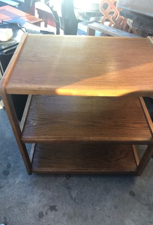 Good looking table on casters for Sale in Fresno, CA