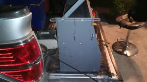 """Metal shelves for a cargo van. 37"""" wide by 18 1/2"""" tall upp ershelf is 37""""wide by 8"""" tall and 8"""" deep for Sale in VLG WELLINGTN, FL"""