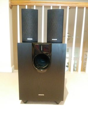 Onkyo powered subwoofer SKW- 580 for Sale in Marietta, GA